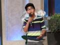 《艾伦秀第11季片花》S11E80 12岁网络红人卡姆·安东尼献唱