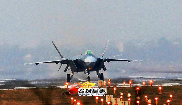 原文配图:国内军事论坛网站出现一张据称为歼20新原型机的图片,编号为2011。