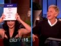 《艾伦秀第11季片花》水果姐Katy Perry玩猜单词游戏