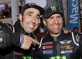 图文:达喀尔拉力赛落幕 两位冠军车手