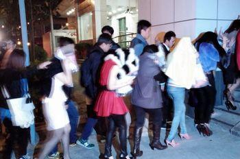 部份组织成员被带回警署调查。来源 香港电台网站
