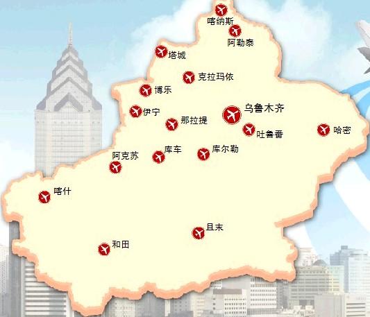 塔城乌苏街道地图