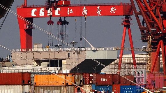 新航母实现海军夙愿 中国先进军备或迎井喷期