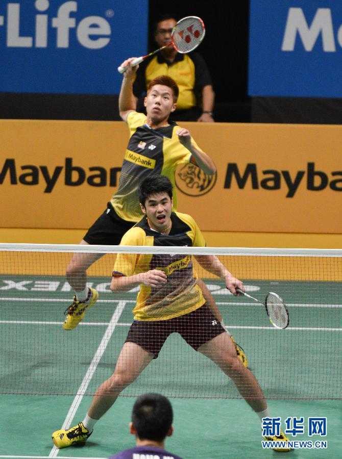 马来西亚公开赛:林钦华/吴伟申夺得男双冠军
