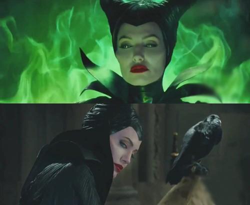 """""""御姐""""风范的安吉丽娜-朱莉诠释黑暗女巫,造型诡谲妖艳"""