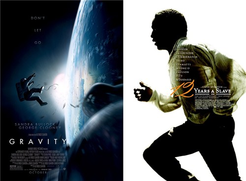 《为奴十二年》和《地心引力》并列获得最佳剧情片