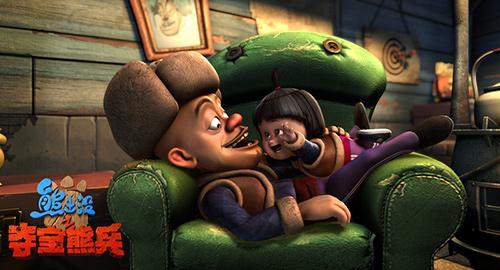 《熊出没》大电影3日破亿 2014动漫作品大盘点图片