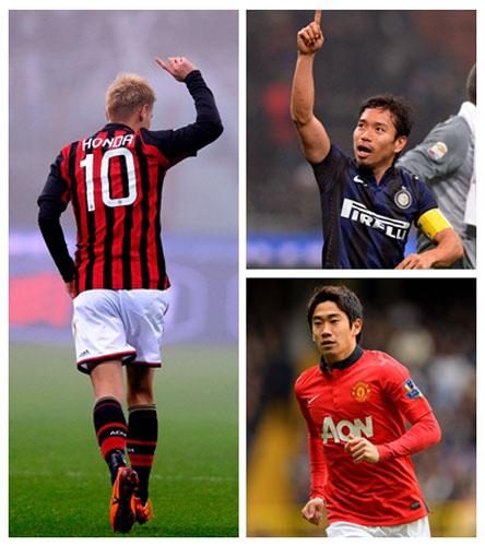 日本球员星光熠熠