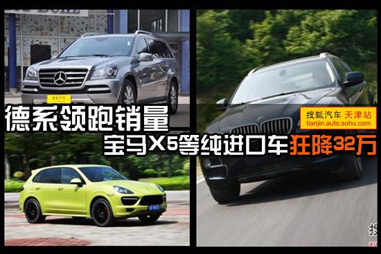 德系领跑销量 宝马X5等纯进口车狂降32万