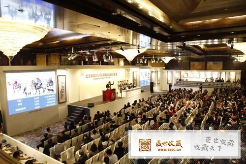 北京保利2013秋拍现场