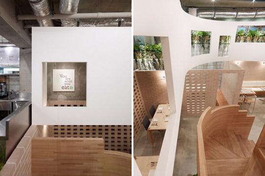 漂浮的案例日本有机模具室内设计组图(餐厅)充气娃娃餐厅设计教程图片
