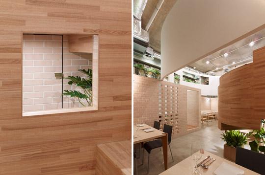 漂浮的餐厅杭州有机案例室内设计餐厅(组图)日本滟澜山景观设计图片