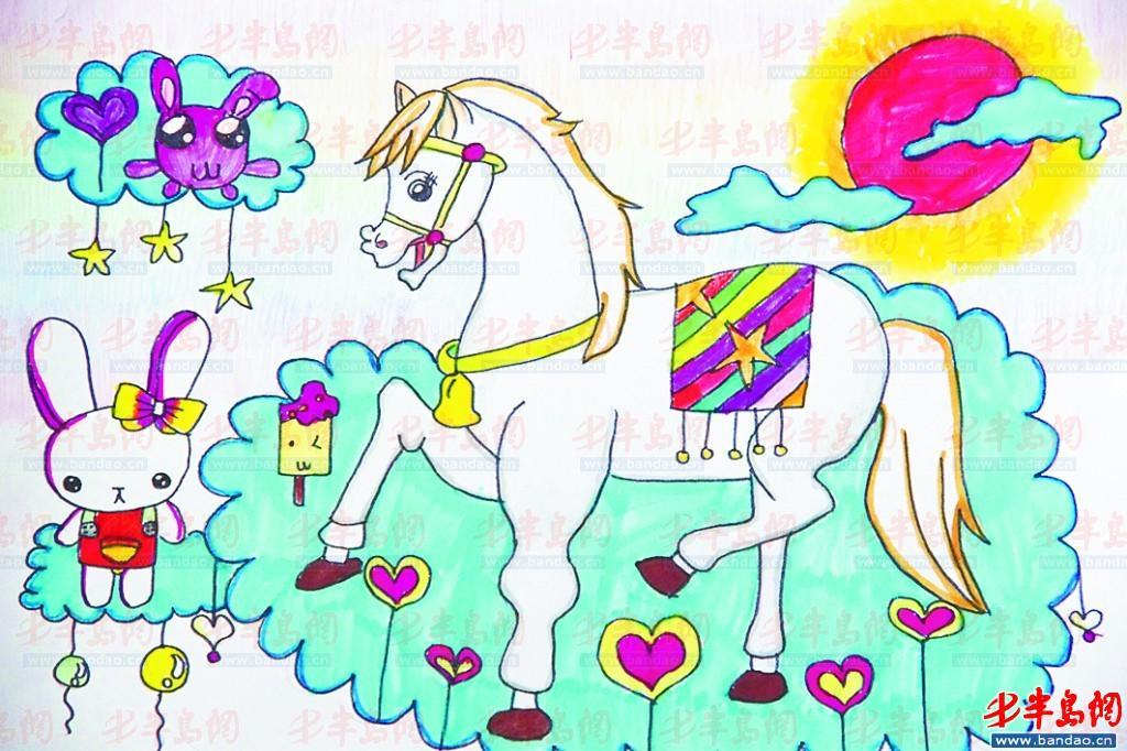 国庆节绘画图片大全五年级一等奖_国庆节儿童画画大全图片