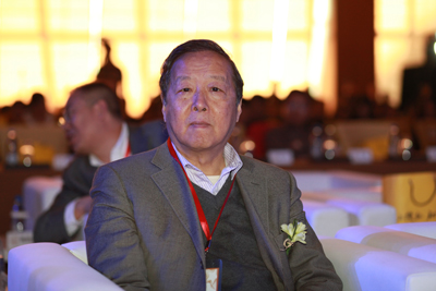 资料图:21世纪教育研究院院长杨东平出席2013搜狐教育年度盛典