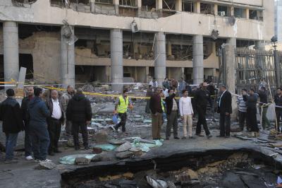 埃及安全部门总部附近爆炸