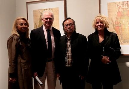 艺术家傅文俊美国展览受关注作品获肯尼迪家族收藏