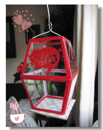 玻璃灯笼.