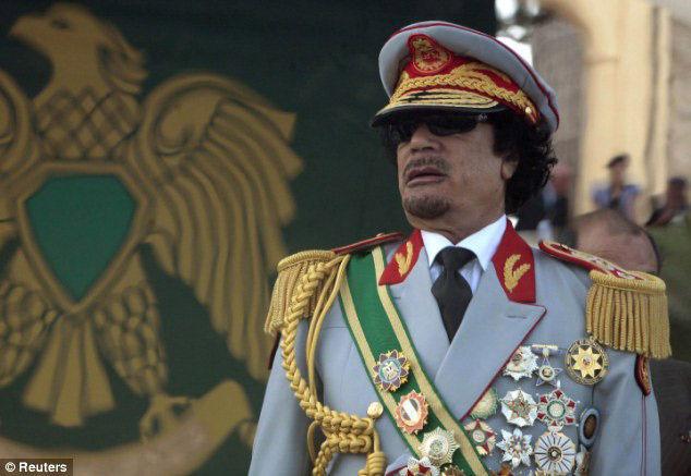 """卡扎菲强奸少女的""""淫窟""""遭曝光(图)"""