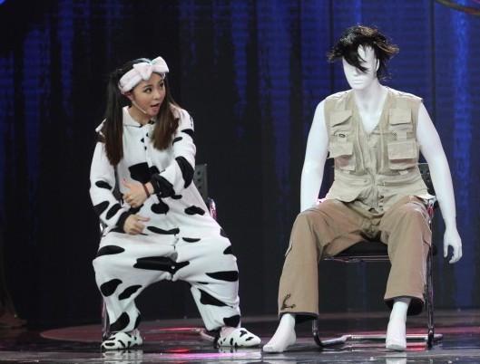 《中国喜剧星》选手 奶牛装 任云姣