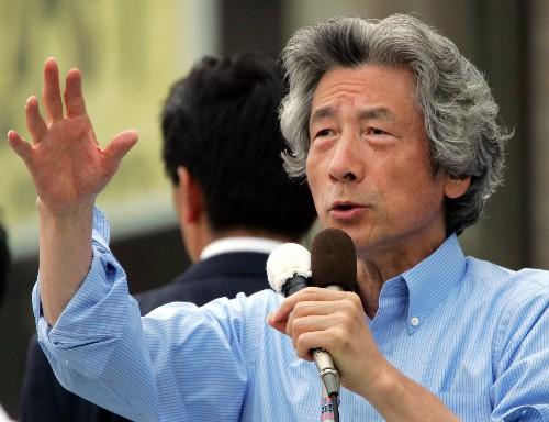 小泉纯一郎批安倍_小泉纯一郎担任日本首相时的绰号是\