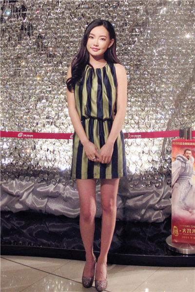 童菲在香港影院