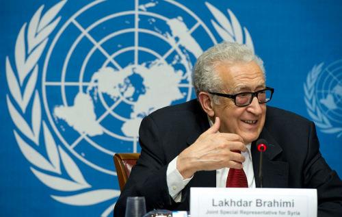 联合国阿盟叙利亚问题联合特别代表卜拉希米