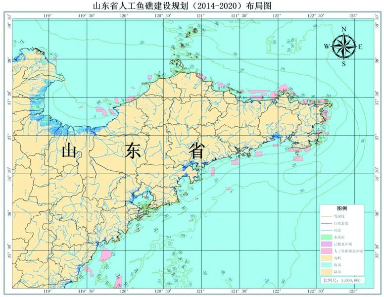 <em>青岛</em>四大人工鱼礁群修复沿海渔业生态链(组图