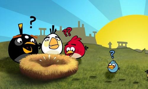 资料图:愤怒的小鸟游戏。