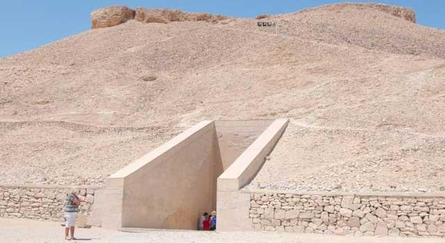 埃及帝王谷法老墓现3000年前壁画 科学探索图片