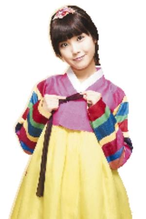 """女星 韩国 iu 韩服/IU被韩国网友评为""""穿韩服最美的女星""""。"""