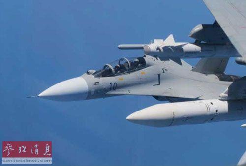 港媒转发的中国战机1月31日紧急升空执行任务图片
