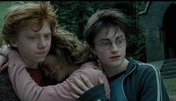 错 赫敏应该和哈利波特在一起
