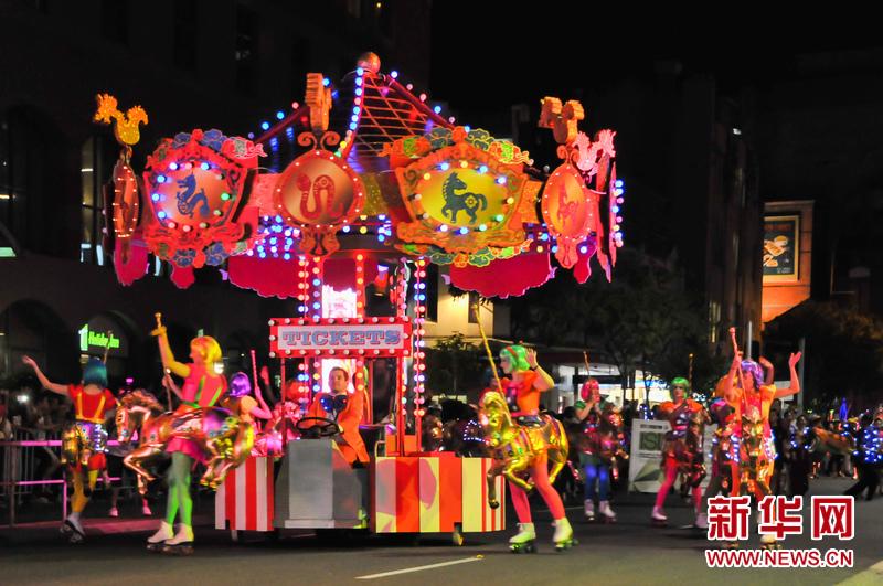 悉尼举办马年花车巡游(高清组图)图片