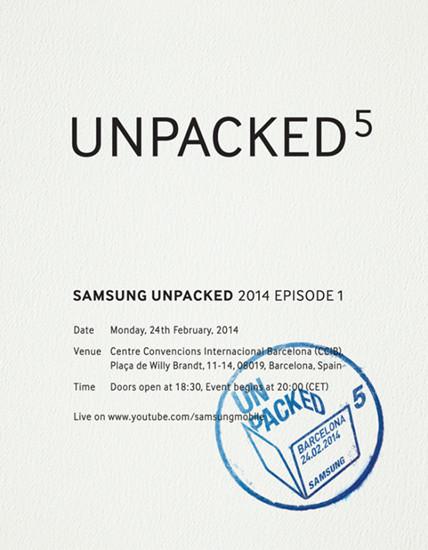 三星24日举办特别发布会 Galaxy S5或届时发布