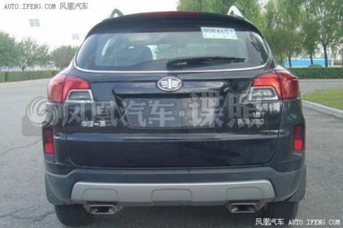 奔腾X80 1.8T车型申报图-七款配6速自动变速器自主SUV 最低仅8万高清图片