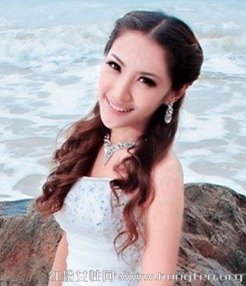 新娘公主头发型图片 清纯甜美的新娘发型