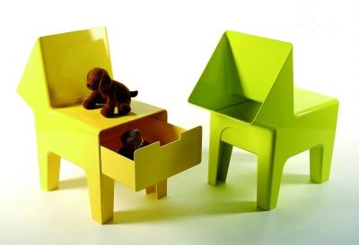 """儿童储物椅张剑(""""60把传统""""椅子知名设计师国际)中国案例包装设计作品图片"""