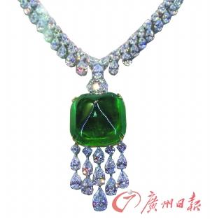 长假珠宝市场祖母绿造假多