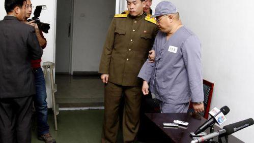 韩裔美国人裴俊浩重返劳改营 身体状况堪忧(图)