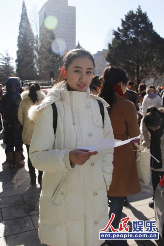 """美女 大鹏/2014北影艺考初试 美女云集""""迷人眼""""(组图)"""