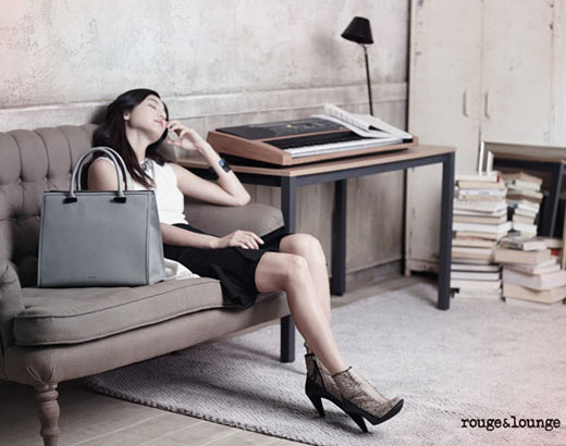全智贤代言rouge&lounge品牌包包(组图)