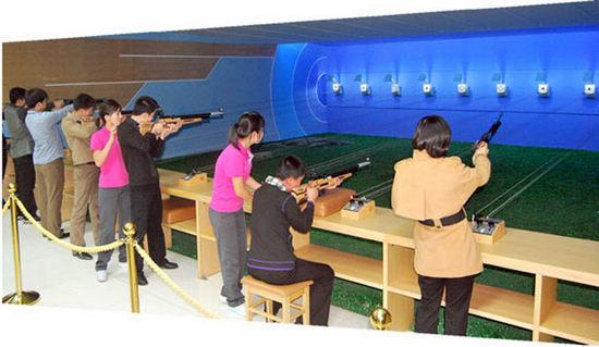 朝鲜健身房射击场曝光