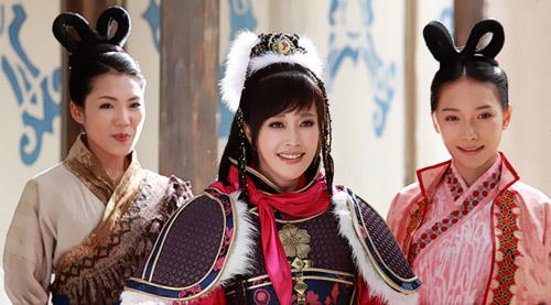 《隋唐英雄3》收视飘红 主演很忙看点多