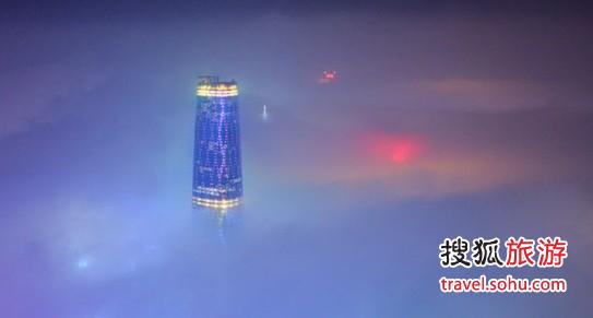 广州四季酒店:拥珠江两岸的壮丽盛景