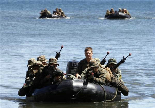 中美联合军演_美将军:中菲在南海冲突 美将支持菲律宾(3)-搜狐军事频道