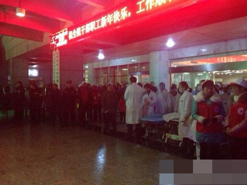 浙江磐安一婚礼现场坍塌已造成7人死亡 98人受伤(组图