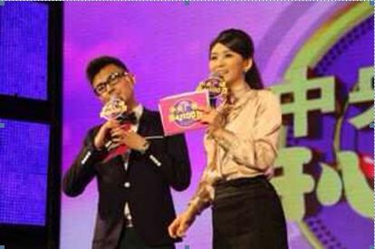 記青島電視臺5頻道當家新銳主持人張雯圖片