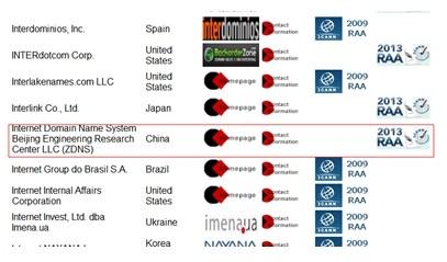 域名工程中心成为国际顶级域名注册商