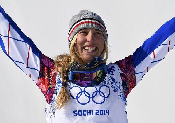 图文:单板滑雪女子追逐赛决赛 特雷斯普切铜牌