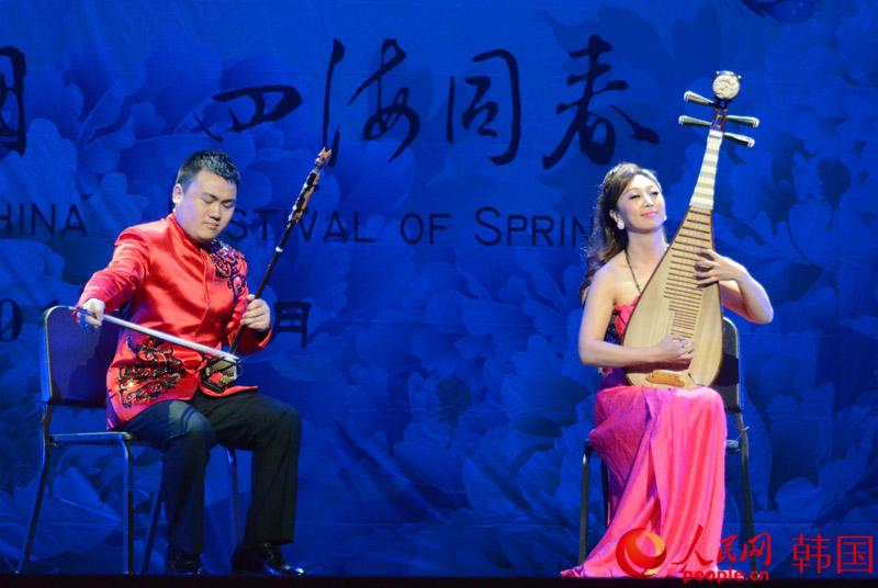 二胡,琵琶合奏《美丽的神话》